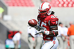 22 September 2007: North Carolina State's John Ware. The Clemson University Tigers defeated the North Carolina State University Wolfpack 42-20 at Carter-Finley Stadium in Raleigh, North Carolina in an Atlantic Coast Conference NCAA College Football Division I game.