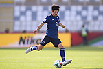 Shibasaki Gaku of Japan in action during the AFC Asian Cup UAE 2019 Group F match between Japan (JPN) and Turkmenistan (TKM) at Al Nahyan Stadium on 09 January 2019 in Abu Dhabi, United Arab Emirates. Photo by Marcio Rodrigo Machado / Power Sport Images