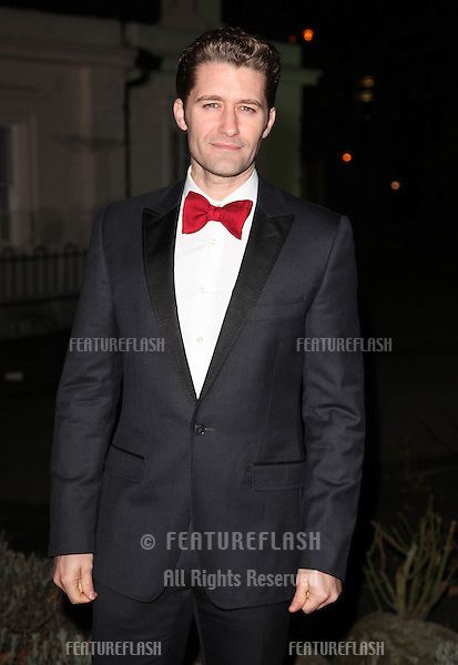 Matthew Morrison arriving for The Sun Military Awards, at The Imperial War Museum, London. 06/12/2012 Picture by: Alexandra Glen / Featureflash