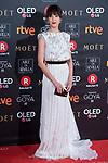 Veronica Sanchez attends red carpet of Goya Cinema Awards 2018 at Madrid Marriott Auditorium in Madrid , Spain. February 03, 2018. (ALTERPHOTOS/Borja B.Hojas)