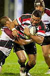 Siale Piutau. Counties Manukau Steelers pre season ITM Cup game against North Harbour played at Bayer Growers Stadium Pukekohe on Wednesday July 21st 2010..North Harbour won 22 - 21.