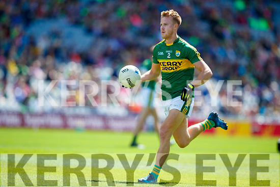 Fionn Fitzgerald Kerry in action against  Galway in the All Ireland Senior Football Quarter Final at Croke Park on Sunday.