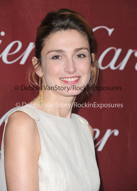 Julie Gayet attends the 2012 Palm Springs International Film Festival Awards Gala held at The Palm Springs Convention Center in Palm Springs, California on January 07,2012                                                                               © 2012 Hollywood Press Agency