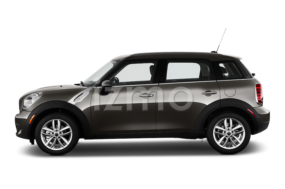 Driver side profile view of a 2011 - 2014 Mini Cooper Countryman SUV.