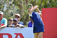 PATTAYA, THAILAND - FEBRUARY 22: Jennifer Song of USA 2nd shot on the 17th tee during the second round of the Honda LPGA Thailand 2019 at Siam Country Club Pattaya (Old Course), Pattaya, Thailand on February 22, 2019.<br /> .<br /> .<br /> .<br /> (Photo by: Naratip Golf Srisupab/SEALs Sports Images)<br /> .<br /> Any image use must include a mandatory credit line adjacent to the content which should read: Naratip Golf Srisupab/SEALs Sports Images
