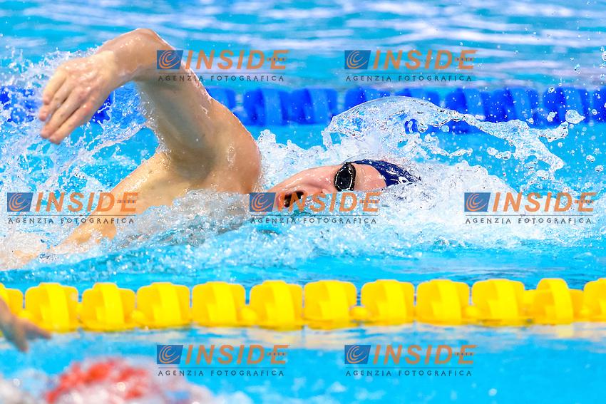 Trus WIGDEL NOR <br /> 400m Freestyle Men <br /> London, Queen Elizabeth II Olympic Park Pool <br /> LEN 2016 European Aquatics Elite Championships <br /> Diving  <br /> Day 08 16-05-2016<br /> Photo Andrea Staccioli/Deepbluemedia/Insidefoto