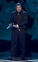 """LOS ANGELES - DECEMBER 6: Roger Clark accepts the Best Performance award for """"Red Dead Redemption 2"""" at the 2018 Game Awards at the Microsoft Theater on December 6, 2018 in Los Angeles, California. (Photo by Frank Micelotta/PictureGroup)"""