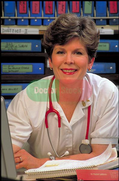 portrait of smiling nurse