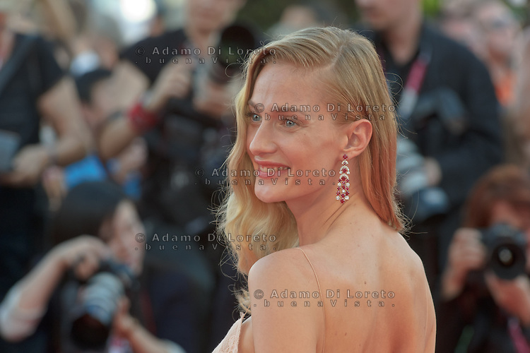 The first day at the start of the 70th Venice film festival and first Red Carpet. Venice August 28 2013. In the photo Eva Riccobono. Photo credit Adamo Di Loreto/BuenaVista*photo