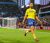 Leeds United's Kemar Roofe celebrates scoring the winning goal <br /> <br /> Photographer Alex Dodd/CameraSport<br /> <br /> The EFL Sky Bet Championship - Aston Villa v Leeds United - Sunday 23rd December 2018 - Villa Park - Birmingham<br /> <br /> World Copyright &copy; 2018 CameraSport. All rights reserved. 43 Linden Ave. Countesthorpe. Leicester. England. LE8 5PG - Tel: +44 (0) 116 277 4147 - admin@camerasport.com - www.camerasport.com