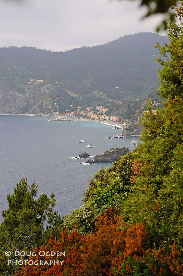 Montorosso in the distance, Cinque Terre, Italy
