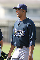 March 19th 2008:  David Price of the Tampa Bay Devil Rays minor league system during Spring Training at the Raymond A. Naimoli Complex in St. Petersburg, FL.  Photo by:  Mike Janes/Four Seam Images