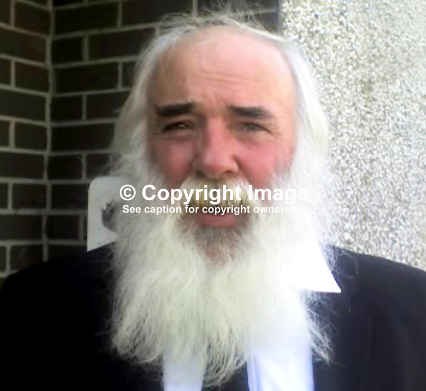 Martin Corey, 61 years, who was sentenced to life in 1973, along with two others, Bill Meehan &amp; Peter McVeigh, for the murder of two RUC constables on the outskirts of Lurgan. In 1992 Martin Corey was released on licence but the licence was revoked in April 2010 by the former Northern Ireland Secretary Shaun Woodward. In August 2011 the Parole Commissioners ruled that the revocation of the licence should remain in place. On Monday, 9th July 2012, Mr Justice Seamus Tracey, ruled that the Parole Commissioners had breached Mr Corey's human rights in refusing to release him. He said the commissioners should reconsider the matter and directed that, in the meantime, Corey should be released on unconditional bail. The photo was taken on Thursday 24th May 2012 when Mr Corey was controversially released to attend the funeral of his brother, Peter, in the company of the N Ireland Education Minister, John O'Dowd. 201205240434.<br />