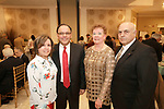 Watertown, CT- 30 March 2017-033017CM08-  From left, Dolly and Edwin Rodriguez, director of development at St. Vincent DePaul, Carol and Paul Iadarola, executive  director at St. Vincent DePaul, are photographed during The St. Vincent DePaul Mission of Waterbury annual banquet at The Grand Oak Villa in Oakville.  Christopher Massa Republican-American