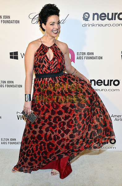 02 March 2014 - West Hollywood, California - Sadie Alexandru. 22nd Annual Elton John Academy Awards Viewing Party held at West Hollywood Park. <br /> CAP/ADM/CC<br /> &copy;CC/AdMedia/Capital Pictures