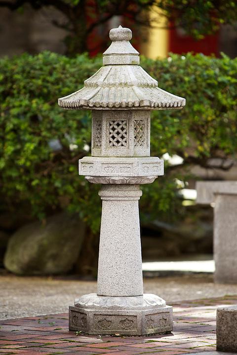 Stone Bridge Lantern, Tung Wah Museum.