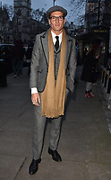 Oliver Proudlock at the LFW (Men's) a/w2018 Oliver Spencer catwalk show, BFC Show Space, The Store Studios, The Strand, London, England, UK, on Saturday 06 January 2018.<br /> CAP/CAN<br /> &copy;CAN/Capital Pictures