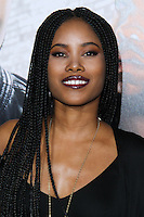 "HOLLYWOOD, CA - JANUARY 13: Jasmine Burke at the Los Angeles Premiere Of Universal Pictures' ""Ride Along"" held at the TCL Chinese Theatre on January 13, 2014 in Hollywood, California. (Photo by David Acosta/Celebrity Monitor)"