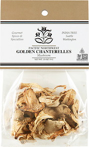 20110 Golden Chanterelle Mushrooms, Caravan 0.35 oz
