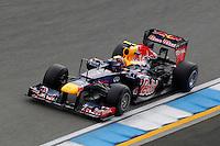 HOCKENHEIM, ALEMANHA, 20 JULHO 2012 - FORMULA 1 - GP DA ALEMANHA -   O piloto australiano Mark Webber da equipe Red Bull Racing durante o primeiro dia de treinos livres no circuito de Hockenheim nesta sexta-feira, 20. Domingo acontece a 10 etapa da F1 no GP da Alemanha. (FOTO: PIXATHLON / BRAZIL PHOTO PRESS).