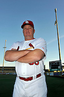Mar 01, 2010; Jupiter, FL, USA; St. Louis Cardinals coach Jeff Murphy (58) during  photoday at Roger Dean Stadium. Mandatory Credit: Tomasso De Rosa/ Four Seam Images