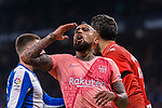 Arturo Vidal of FC Barcelona gestures during the La Liga 2018-19 match between RDC Espanyol and FC Barcelona at Camp Nou on 08 December 2018 in Barcelona, Spain. Photo by Vicens Gimenez / Power Sport Images