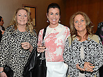 Aoife McPartlin, Seosaimhín Carren and Siobhan Cronin pictured at the Women In Sport Lunch at City North Hotel. Photo:Colin Bell/pressphotos.ie
