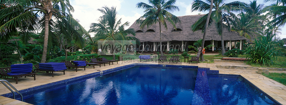 Afrique/Afrique de l'Est/Tanzanie/Zanzibar/Ile Unguja/Bwejuu: The Palms annexe haut de gamme de l'Hotel Breezes Beach Club la piscine