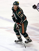 February 24th 2008:  Ryan Hamilton (12) of the Houston Aeros skates up ice during a game vs. the Rochester Amerks at Blue Cross Arena at the War Memorial in Rochester, NY.  The Aeros defeated the Amerks 4-0.   Photo copyright Mike Janes Photography 2008