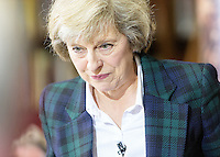 Home Secretary Theresa May launches her bid to replace David Cameron, London, England,  June 30, 2016.<br /> CAP/CAM<br /> &copy;Andre Camara/Capital Pictures /MediaPunch ***NORTH AND SOUTH AMERICAS ONLY***