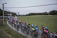 peloton. <br /> <br /> 78th Euro Metropole Tour 2018<br /> La Louvi&egrave;re &ndash; Tournai (BEL): 206km