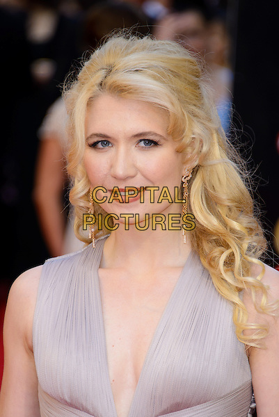 LONDON, ENGLAND - APRIL 13: Scarlett Strallen attends the Olivier Awards 2014 at the Royal Opera House on April 13, 2014 in London, England. <br /> CAP/CJ<br /> &copy;Chris Joseph/Capital Pictures