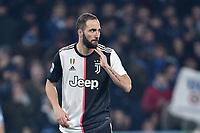 Gonzalo Higuain of Juventus<br /> Roma 7-12-2019 Stadio Olimpico <br /> Football Serie A 2019/2020 <br /> SS Lazio - Juventus<br /> Foto Antonietta Baldassarre / Insidefoto