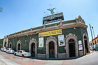 Barra Hidalgo. Bar.  Cantina mexicana antes llamada Gran Taco. Es un edificio antiguo en el Centro de Hermosillo. INHA. Instituto nacional de Antropologia e Historia.<br />