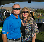 Brian and Megan Williford during the Art of Childhood Gala and Fundraiser at Montreux Golf and Country Club on Friday, August 24, 2018.