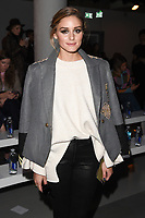 Olivia Palermo<br /> at the David Koma SS18 Show as part of London Fashion Week, London<br /> <br /> <br /> &copy;Ash Knotek  D3308  18/09/2017