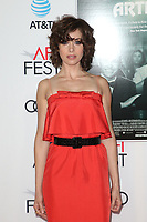 HOLLYWOOD, CA - NOVEMBER 12: Alison Brie, at the AFI Fest 2017 Centerpiece Gala Presentation of The Disaster Artist on November 12, 2017 at the TCL Chinese Theatre in Hollywood, California. Credit: Faye Sadou/MediaPunch /NortePhoto.com