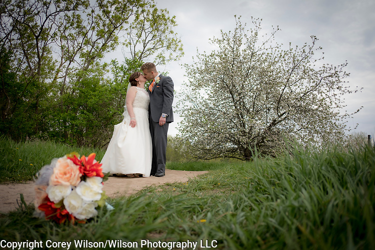 Jason and Anna Duzeski wedding at First United Methodist Church in Green Bay, Wis., on May 13, 2017. Picture locations at Fonferek Glen County Park and the Fox River Trail were followed by a reception at the Swan Club.