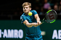 ABN AMRO World Tennis Tournament, 13 Februari, 2018, Tennis, Ahoy, Rotterdam, The Netherlands, David Goffin (BEL)<br /> <br /> Photo: www.tennisimages.com