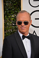 Michael Keaton at the 74th Golden Globe Awards  at The Beverly Hilton Hotel, Los Angeles USA 8th January  2017<br /> Picture: Paul Smith/Featureflash/SilverHub 0208 004 5359 sales@silverhubmedia.com