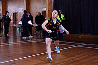 Badminton &ndash; CSW Open Singles Champs at Badminton Wellington Centre, Wellington, New Zealand on Wednesday 4 July 2018.<br /> Photo by Masanori Udagawa. <br /> www.photowellington.photoshelter.com