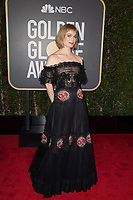 Alison Sudol arrives at the 75th Annual Golden Globe Awards at the Beverly Hilton in Beverly Hills, CA on Sunday, January 7, 2018.<br /> *Editorial Use Only*<br /> CAP/PLF/HFPA<br /> &copy;HFPA/Capital Pictures