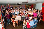 21st Birthday: Stephanie Collins,seated second d from left, Listowel, celebrating her 21st birthday with family & friends at Christy's Bar,Listowel on saturday night last.