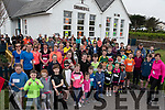 Runners and Walkers gather for Glenbeigh's Curraheen National School Fun Run on Easter Saturday