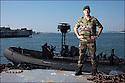 Juin 2010, Commandos Marine.<br /> CAPITAINE DE FR&Eacute;GATE LUC GANDER,<br /> commandant de la base des fusiliers marins et commandos (BFMC) de Lorient.