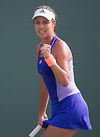 ANA IVANOVIC (SRB)<br /> <br /> Tennis - MIAMI OPEN 2015 - ATP 1000 - WTA Premier -  Crandon park Tennis Centre  - Miami - United States of America - 2015<br /> &copy; AMN IMAGES