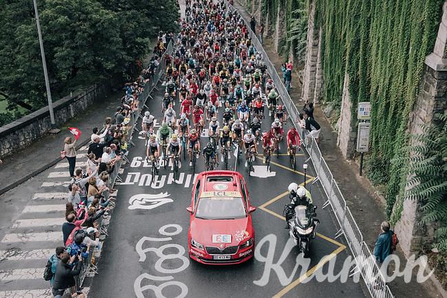 race start out of Pau<br /> <br /> 104th Tour de France 2017<br /> Stage 12 - Pau &rsaquo; Peyragudes (214km)