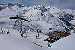 Top of Rufikopf Gondola, Lech Ski Area, St Anton, Austria