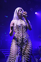 LONDON, ENGLAND - MAY 18: Bebe Rexha performing at KOKO on May 18, 2017 in London, England.<br /> CAP/MAR<br /> &copy;MAR/Capital Pictures /MediaPunch ***NORTH AND SOUTH AMERICAS ONLY****