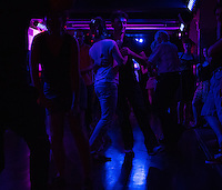An evening of dance and music at La Java, 105 Rue du Faubourg du Temple, Paris 75010. La Java is a traditional musical night club, frequented in the past by Edith Piaf, Fréhel and Django Reinhardt. As with others, it was closed in 1940, but re-opened in 1968, and came under new management in 2006. The evening included dance and music, with a guest appearance by singer and dancer Nicole Rochelle plus Boogie Woogie by guest staar, Jean-Paul Amourox. Sunday 22 June 2014.